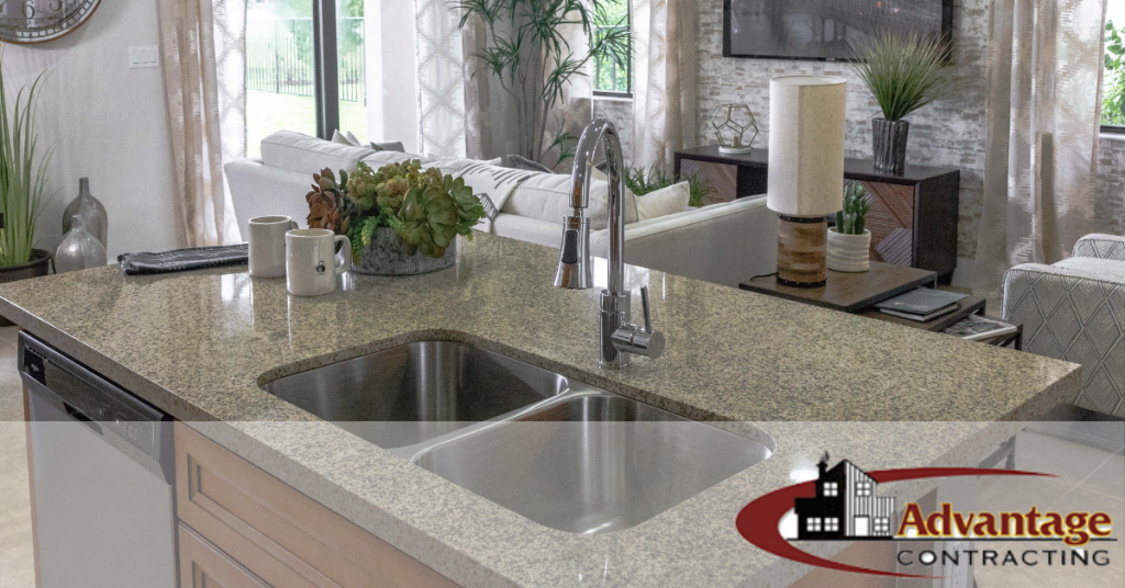 What is the most popular countertop, countertop materials, types of kitchen countertops, marble, quartz, kitchen sink